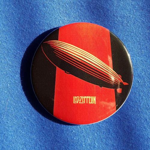Led Zeppelin Large Button Badge 58mm diameter