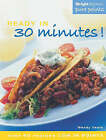 Weight Watchers Ready in 30 Minutes!: Over 60 Recipes Low in Points by Wendy Veale (Paperback, 2003)