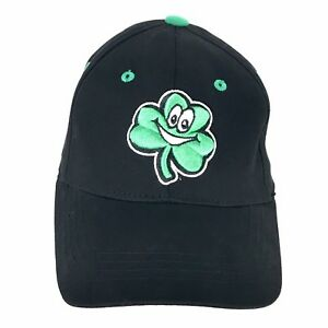 40c6fae6 Details about Notre Dame Fighting Irish Smiling Shamrock Cap Hat Black Flex  Fit Youth Kids Boy
