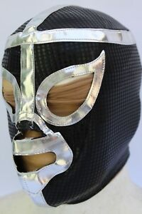8-KIDS-034-BLACK-SHADOW-034-LYCRA-LACE-UP-BACK-WRESTLING-MASK-MEXICO-lucha-libre