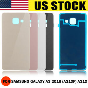 US-Replacement-Rear-Back-Glass-Battery-Cover-for-Samsung-Galaxy-A3-2016-A310F