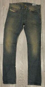 Men-039-s-Diesel-Jeans-Taglia-W29-L32-costo-260-Slim-Skinny-Fit-Nuovo-di-Zecca