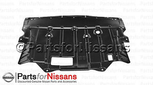 genuine nissan 2003 2008 350z engine under cover slash shield guard Nissan 350Z Engine Diagram image is loading genuine nissan 2003 2008 350z engine under cover