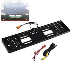 Kennzeichenhalter mit integrierter Rückfahrkamera passend für Renault