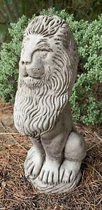 STONE-GARDEN-TALL-SITTING-PROUD-LION-ORNAMENT