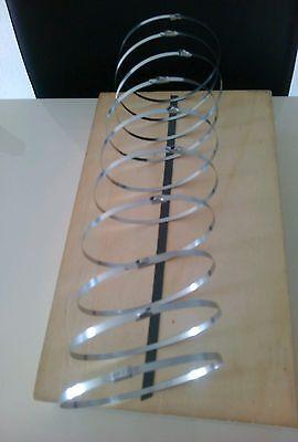 50 Kabelbinder aus Edelstahl  V2  4,6x360mm
