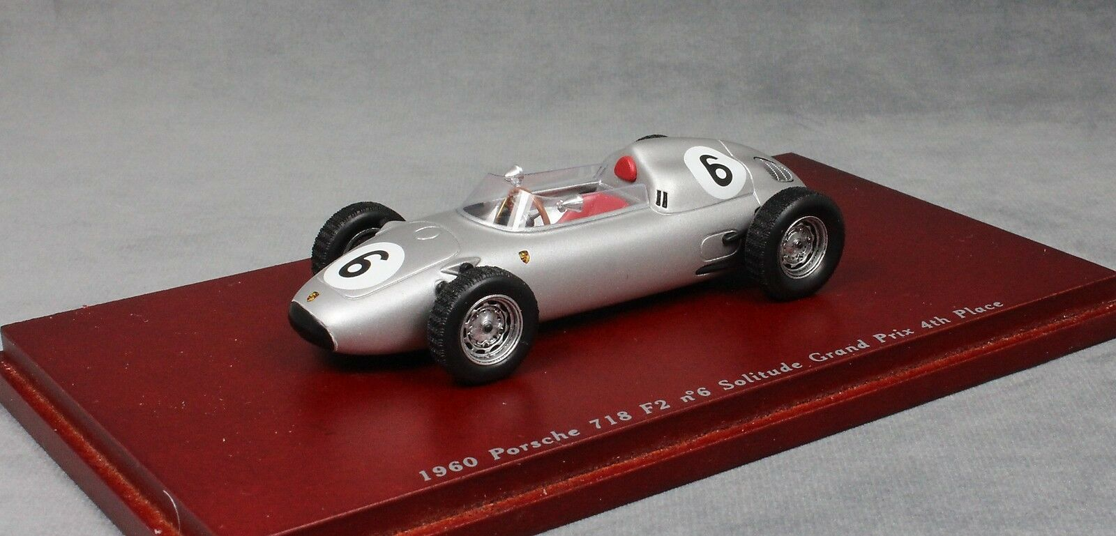 Truescale Porsche 718 Solitude F2 Grand Prix 1960 Graham Hill TSM114310 1 43 NEW
