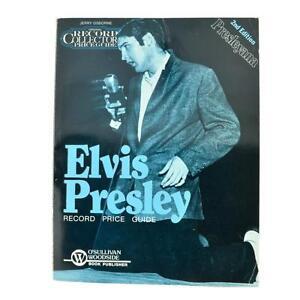 Presleyana-Elvis-Presley-Price-Guide-2nd-Edition-Paperback-Lot-1868095
