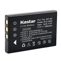 1x Kastar Battery For Fujifilm Np-60 Sv-av25eg-s Sv-av30 Sv-av35 Sv-pt1