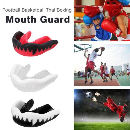 1x Kids//Adults Boxing Mouth Guard Taekwondo MMA Teeth Protector Boxe Mouthpiece
