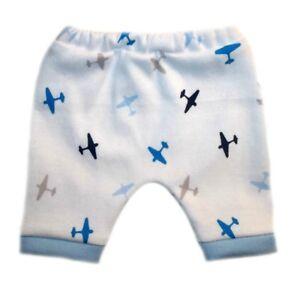 c5b19e5cf Baby Boy s Cute Airplane Shorts. 4 Sizes for Preemie and Newborns to ...