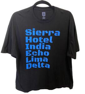 WWE-The-Shield-Graphic-T-Shirt-Mens-Black-3-XLarge-Roman-Reigns-Seth-Rollins