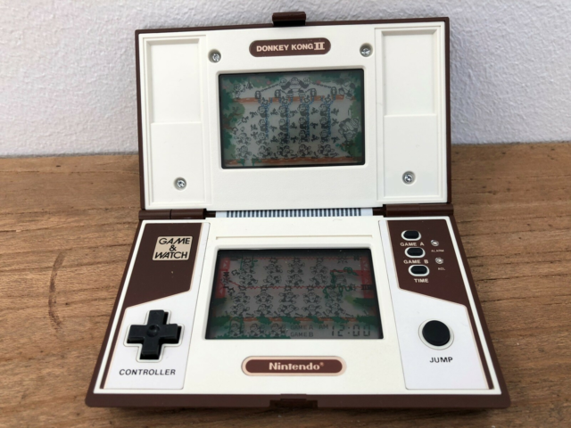 Nintendo Game & Watch, Donkey Kong II, Perfekt, Donkey King…