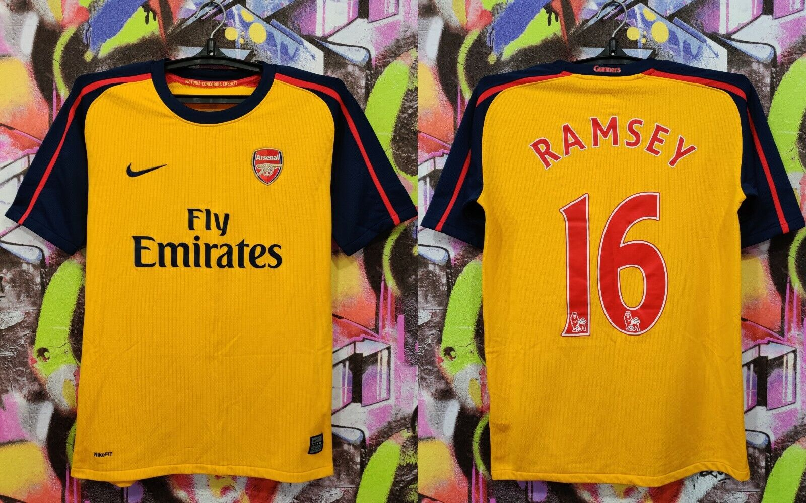 Aaron Ramsey Arsenal Home Jersey