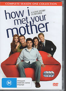 HOW-I-MET-YOUR-MOTHER-SEASON-ONE-3-DVD-SET-R4-VERY-GOOD-FREE-POST