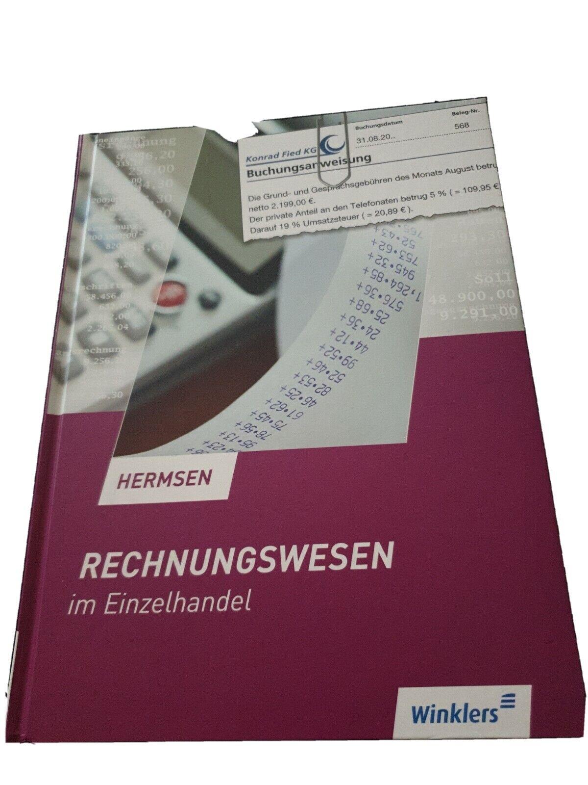 Rechnungswesen im Einzelhandel von Jürgen Hermsen (1996, Gebundene Ausgabe)