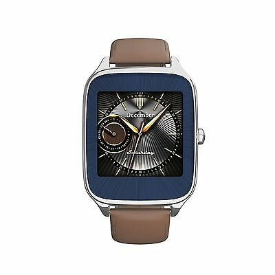NEW ASUS ZenWatch 2 WI501Q-SL-CM-Q Zen Watch Smart for Smartphone Camel Leather