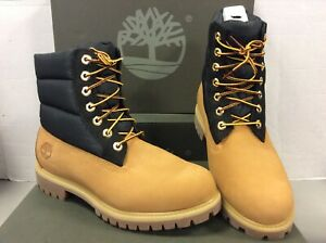 low priced 68df2 8d246 Details about Timberland 6 inch Premium Waterproof Puffe Wheat Mens Boots  1UWM, UK 8.5 / EU 43