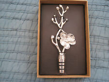 NEW Michael Aram White Orchid Wine Bottle Stopper Brand New in Box FROM MACY'S