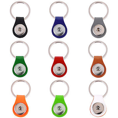 Schlüsselanhänger Leder Click Button Druckknopf Träger kompatibel für Chunks