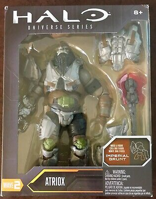 Halo UNIVERSE SERIES ATRIOX Mattel BAF 6in Wave 2 Action Figure IMPERIAL GRUNT