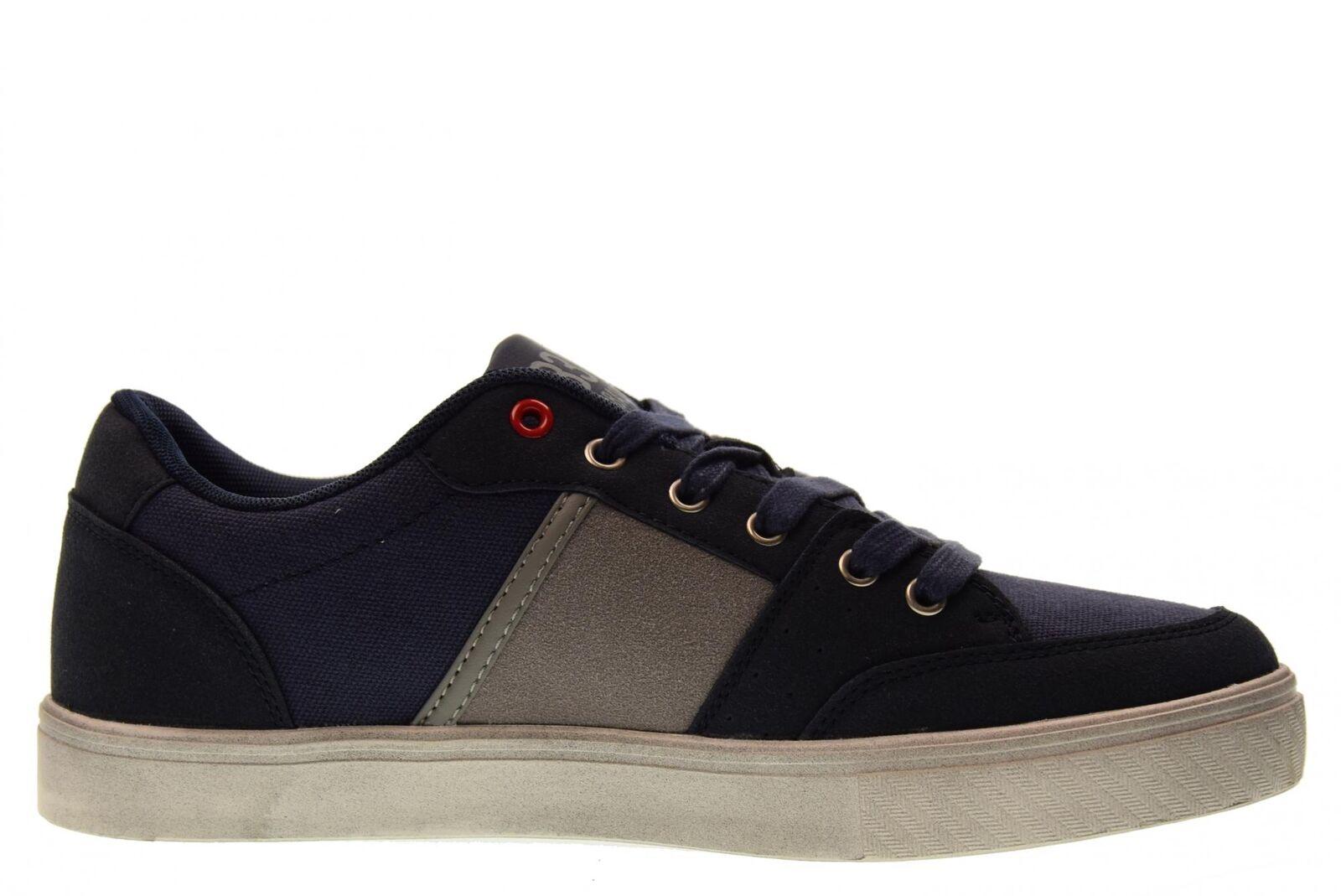 B3D Turnschuhe Shoes Schuhe Männer niedrige Turnschuhe B3D 40182 BLU P18g 18aad8