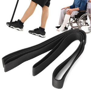 Nylon-Leg-Lifter-Strap-With-Hand-amp-Foot-Strip-Mobility-Aids-Disability-Elderly