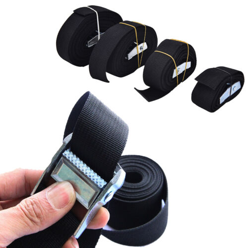 Nylon Pack Cam Tie Down Strap Lash Luggage Bag Belt Metal Buckle V9P F  TWUK