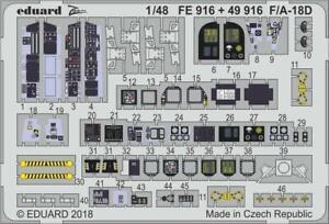 Eduard-1-48-F-A-18D-Hornet-Cockpit-Kinetic-FE916