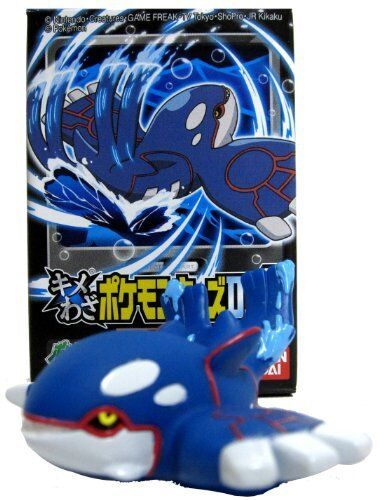 "Pokemon DP6 Edition Series #8 Finger Puppet Figure Kyogre ~2/"" Mini-Figure"