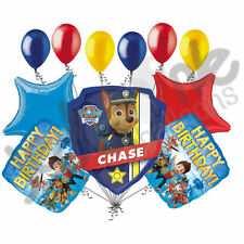 11 Pc Paw Patrol Balloon Bouquet Party Decoration Happy Birthday Nick Jr Chase