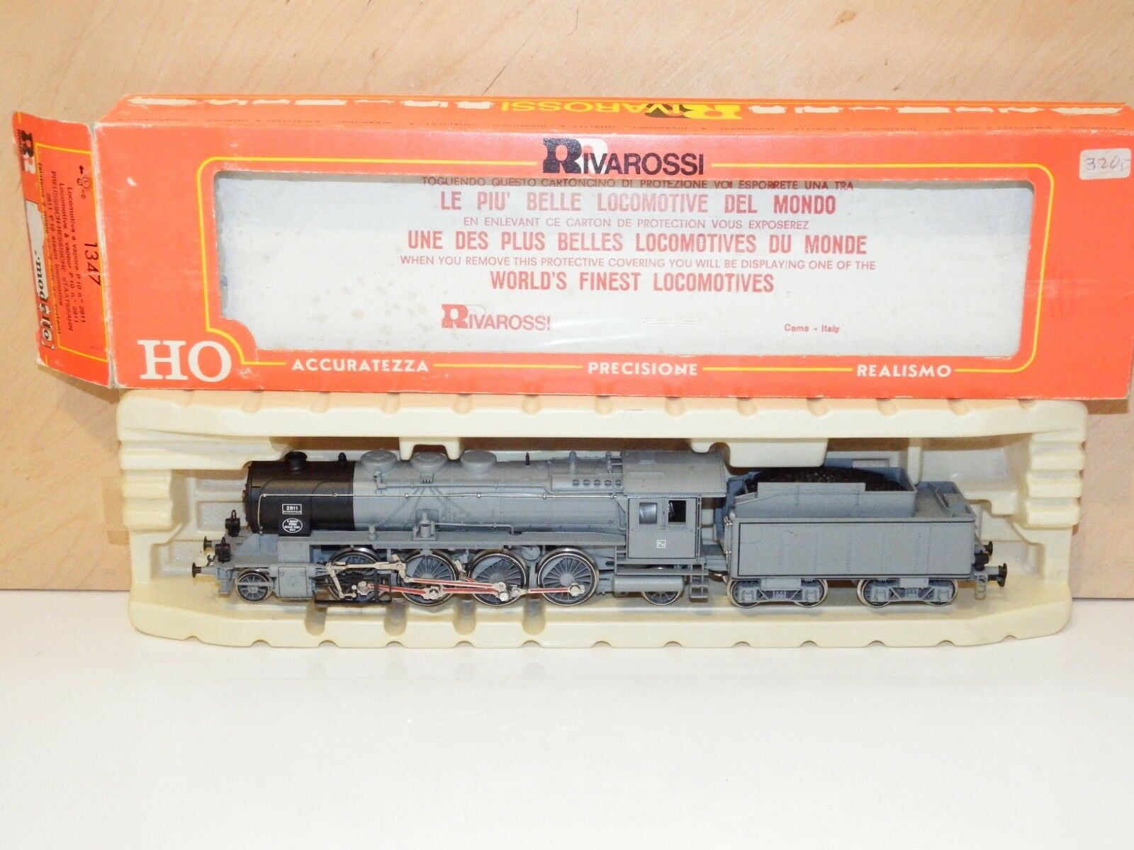 H0 Rivarossi 1347 Dampflok Dampflok Dampflok BR P10 2811  Neuwertig OVP 2901 f0e1f1