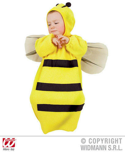 Bébé Bumble Bee Bonnet Et Bavoir Insecte Guêpe Fantaisie Robe Costume