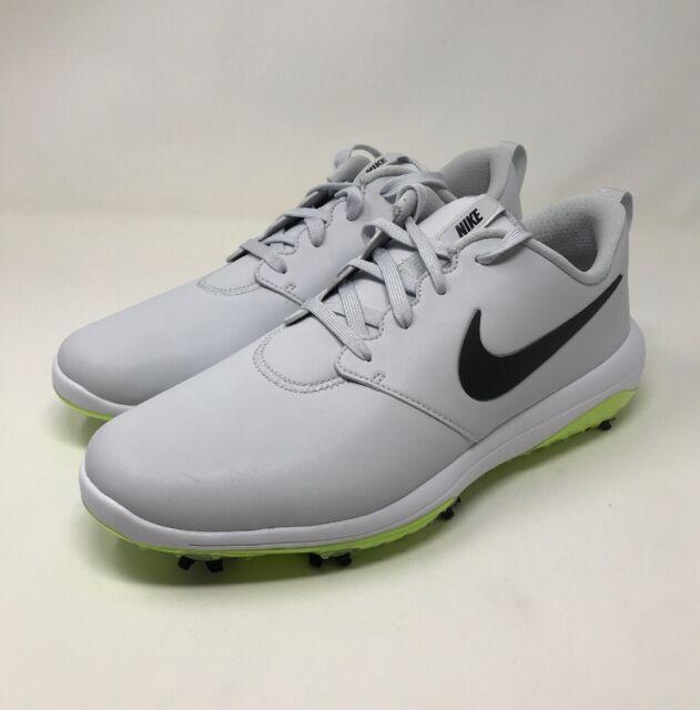 Nike Mens Roshe G Tour Size 12w Golf Spikes Pure Platinum Black Volt Ar5579 002 For Sale Online Ebay