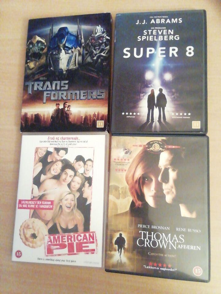 10 Udenlandske Dvd film, DVD, andet