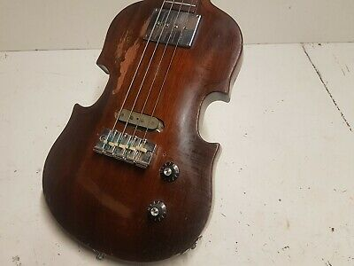 Diskret 1969 Gibson Eb 1 Violin Bass - Made In Usa - Slim Neck Profile