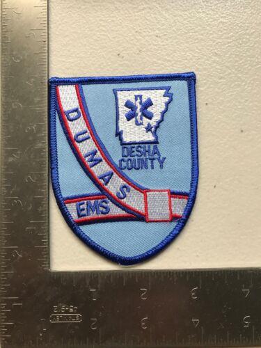 Dumas EMS paramedic Patch Desha County Arkansas Ar