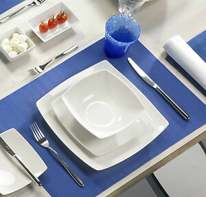 Kaleidos - Servizio piatti 18 pz. in porcellana - serie HELSINKY