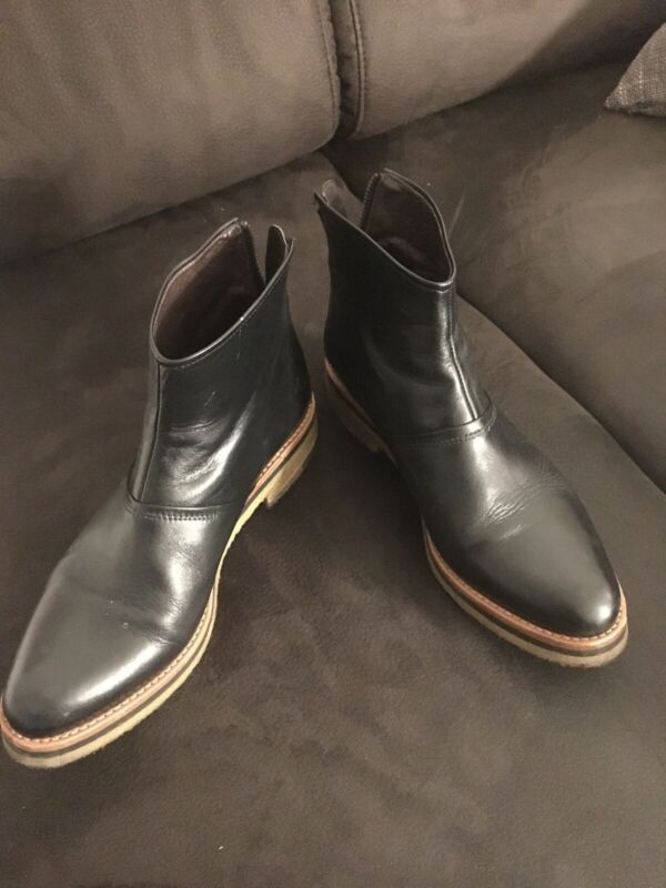 Selbstbewusst, Befangen, Gehemmt, Unsicher, Verlegen Zinda Stiefelette Schwarz Leder Gr.38 Top Schuhe Chelseaboots Stiefel Boots In Vielen Stilen