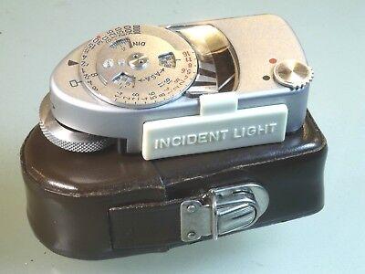 Gut Ausgebildete Leitz Leica-meter Leicameter Belichtungsmesser Im Etui Die Neueste Mode Belichtungsmesser