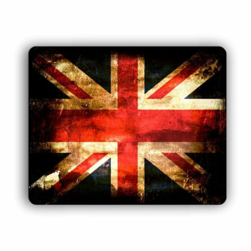 Rustic British Flag Mouse Pad Computer PC Desktop Laptop Mousepad