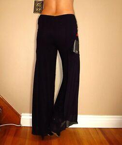 Pantaloni M Flare larga gamba Tadashi Pantaloni Pantaloni High 8 Rise Medium Collection Cq0vw8