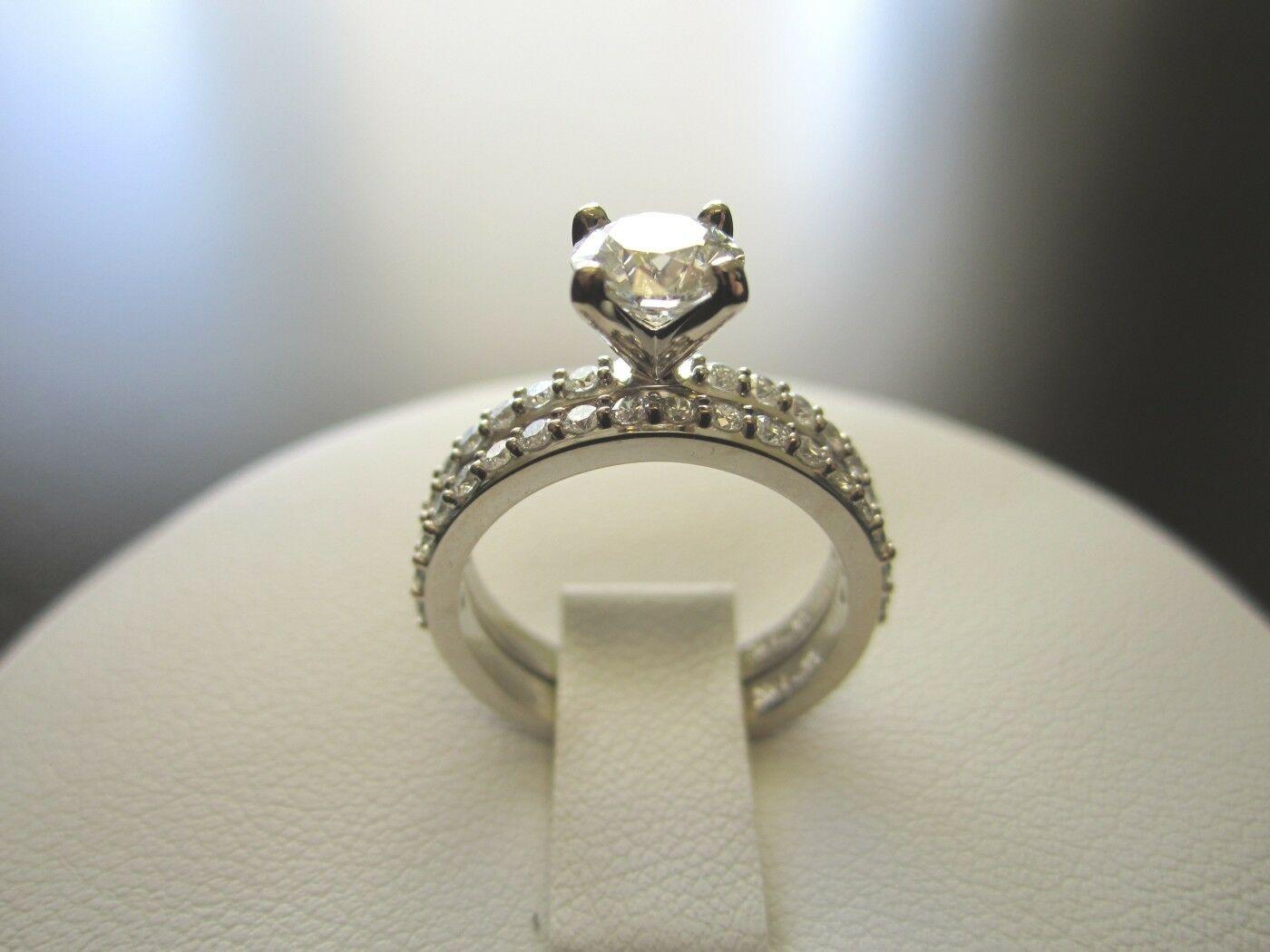 1.89 Ct D/vvs1 Round Cut 10k Yellow Gold Three Stone Engagement Wedding Ring Jewelry & Watches