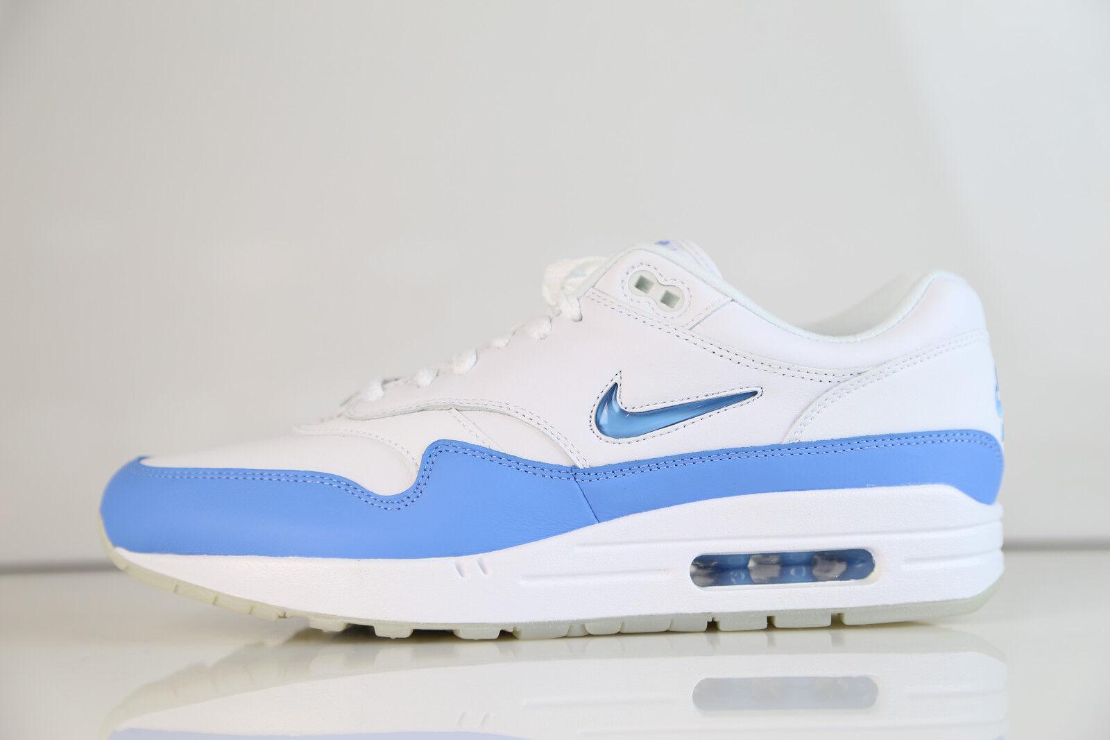 Nike Air Max 1 Premium SC Jewel White University Blue 918354-102 8-13 prm 90