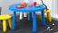 Indexbild 2 - IKEA MAMMUT Kinder Tisch Stuhl Hocker Set in/out Garten Wohnen Kinderhocker