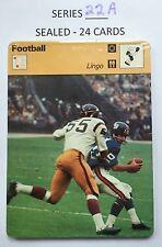 1978 SPORTSCASTER SERIES 22A - SET of 24 CARDS (SEALED) - Jabbar, Snead, Tark