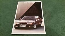 1988 1989 BMW 730i 735i 735iL - UK 2/88 BROCHURE 7 Series E32