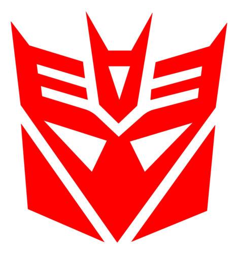 Decepticon Logo 3M Scotchlite Reflective Decal Sticker 680 Transformers car