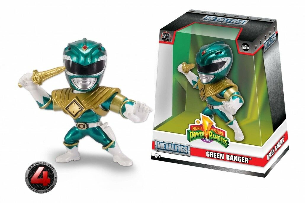 Mighty Morphin Power Rangers Metals Collectible Die-Cast Figure Green Ranger