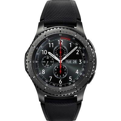 Samsung Gear S3 Frontier Dark Grey Bluetooth Smartwatch SM-R760NDAAXAR